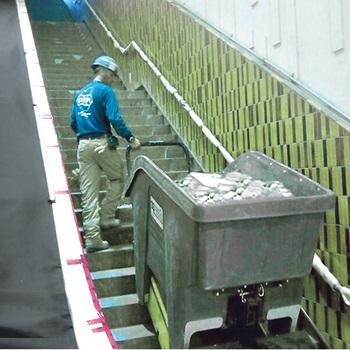 Greengo pour monter les escaliers