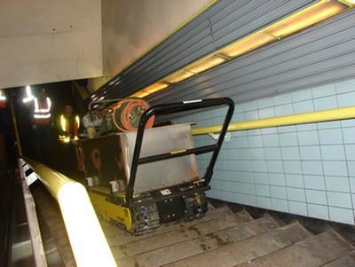 Track O Twin Track in the metro