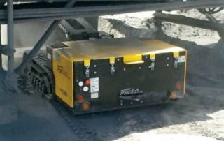 MiniDozer 48 under a bridge