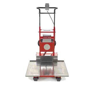 Le monte-escaliers Domino Automatic a une base ajustable