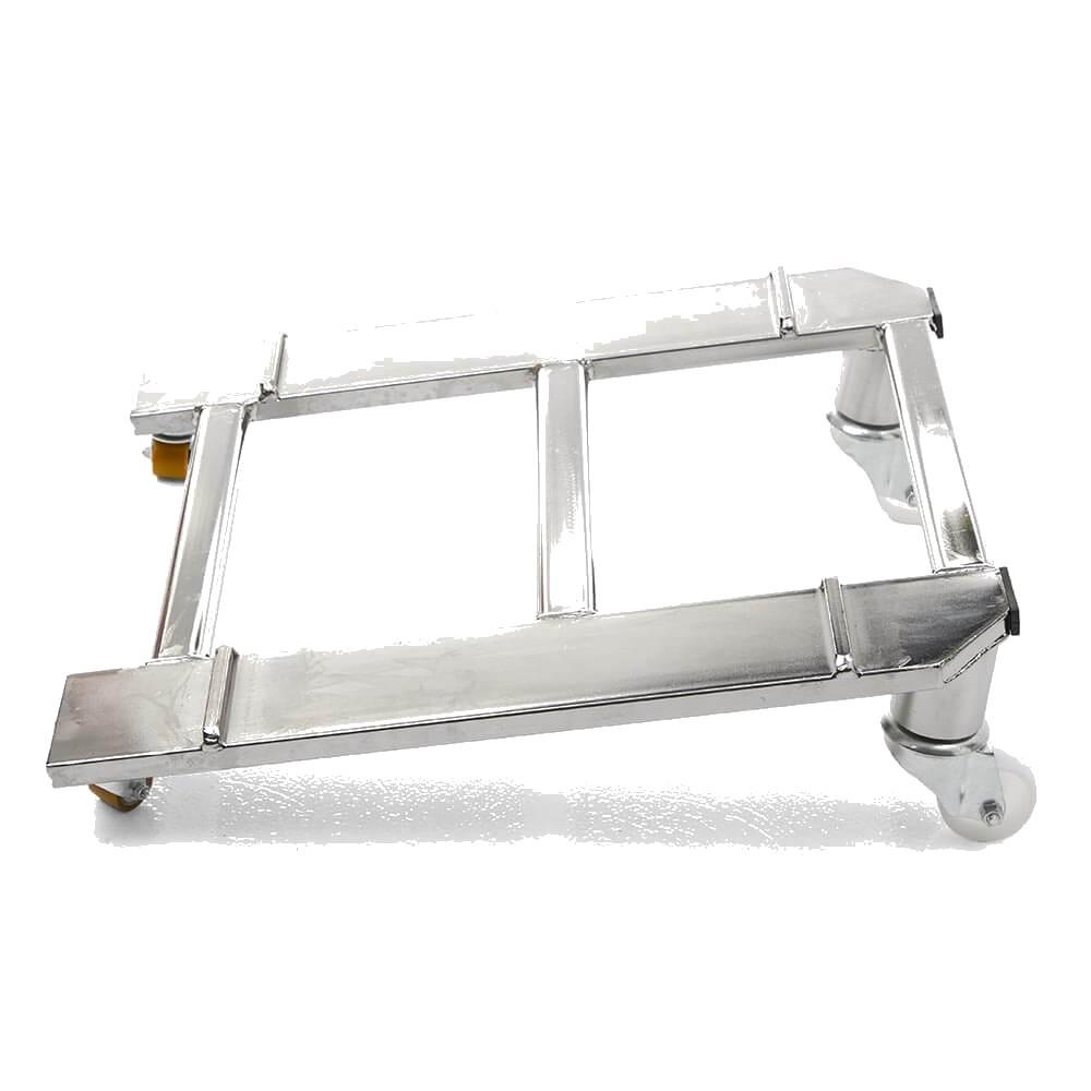 Le monte-escaliers Domino Automatic a une base étroite